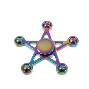 Five-pointed Star Spinner Fidget Toy Hand Spinner EDC Focus Toy