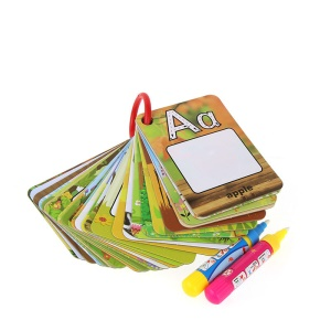 26 English Letters Water Magic Word Cards Drawing Painting Mat Board Doodle Toy