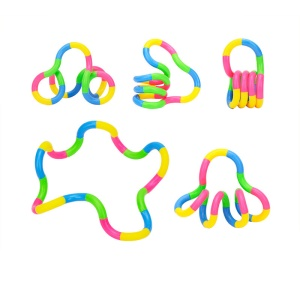 3 Pcs Children Adult Tangle Boring Decompression Twisting Circle Classic Toys