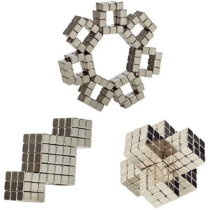 216PCS 4mm Square Cube Magnets DIY Puzzle Cubes Toy for Children Early Education