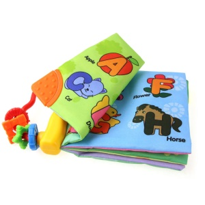 COOLPLAY Baby Intelligence Development English Letters Animals Learn Picture Cognize Book