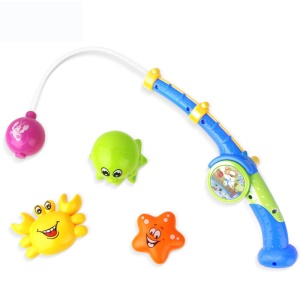 COOlPLAY Magnetic Fishing Game Bath Toy Set