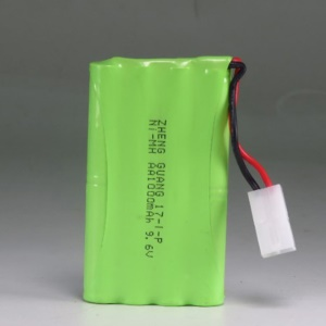 9.6V 1000mAh Ni-MH Rechargeable Battery for RC Car
