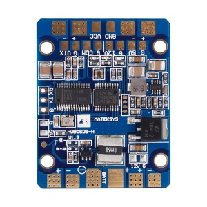 OCDAY Matek Systems HUBOSD eco H-Type PDB with Integrated OSD, Current Sensor and Dual BEC