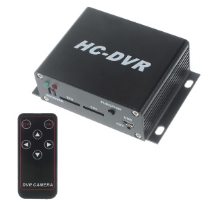 Mini Simplex H.264 HC-DVR Security System Support Dual TF Cards Max 128G HFR-609 - UK Plug