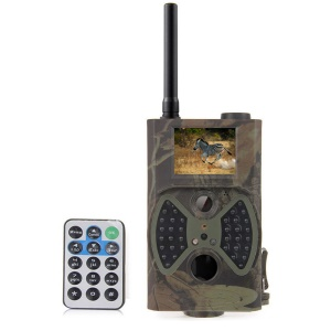 HC300M GPRS/MMS/SMS Digital Infrared Trail Camera HD 1080P + 8GB SD Card