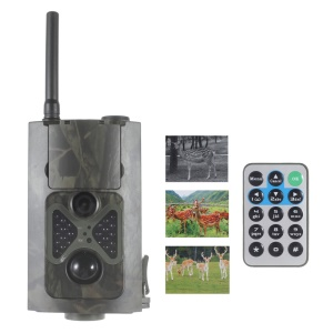 HC500G 5MP PIR HD Digital Wildlife Hunting Camera 2-inch LCD 3G GSM MMS SMS