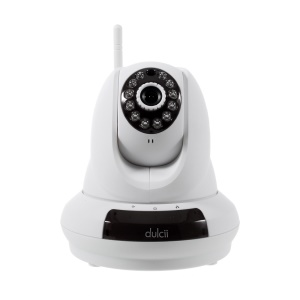 DULCII CCTV 720P WiFi Cloud IP Camera Support P/T P2P OEM (DC-366) - US Plug