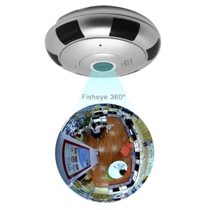 Panorama Wireless IP Camera 960P HD WiFi Smart Camera 360 Degree Full View Support IOS Android Smartphone APP Remote View - EU Plug
