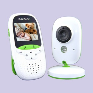 VB602 2.0-inch TFT LCD Wireless Digital Video Baby Monitor with Night Vision and Two Way Talk - EU Plug