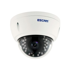 ESCAM 1520P WiFi IP IR Dome Camera 3.6mm Lens Support APP P2P Onvif (QD420)-EU vela