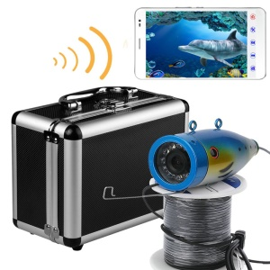 WIFI Wireless 20M Underwater Fishing Camera Video Recorder (SYF001-2OM) - EU Plug