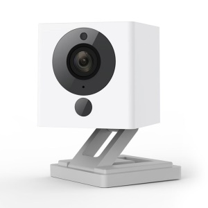 XIAOMI Small Square Smart Camera 1080P WiFi Night Vision IR-cut Motion Detection IP Camera Camcorder - White