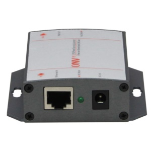 10/100/1000M Single Port IEEE802.3af PoE Injector DC Input 15.4W (PSE3101DCG)