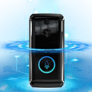 MR101 Home Security Wireless Wifi Smart Video Doorbell with IR Night Vision 166° Wide Angle