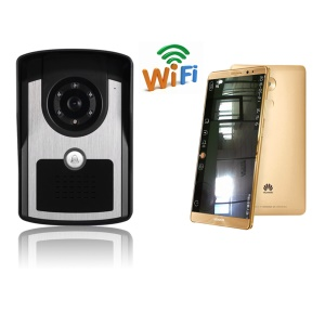 Smart WiFi IP Video Doorbell Support Motion Detection IR Night Vision (WIFIFG1001) - EU Plug