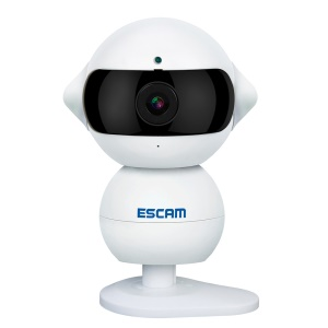 ESCAM Elf HD 960P WiFi Cámara IP 3.6mm Lente Apoyo APP P2P Audio bidireccional QF200 - EU tapón