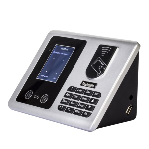 DANMINI Facial Recognition + ID Card Attendance System Machine A502 - US Plug