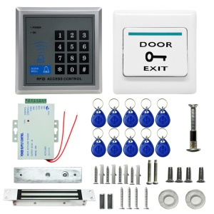 DANMINI MJPT015 Electric Door Lock RFID Access Control ID Card Password System