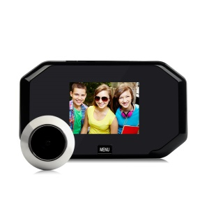 DANMINI YB-30BH 3.0-inch Color Screen 145 Degree Wide Angle Peephole Viewer with One Key to Take Photo Function