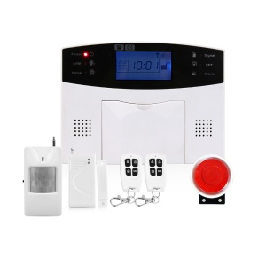 EU Plug - DYGSM DY-GSM30A Wireless LCD GSM Intelligent Home Security Alarm System