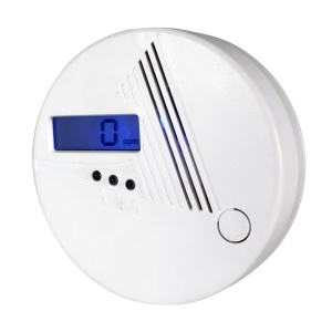 Carbon Monoxide CO Detector with LCD Display for Home Security (PA-001D)