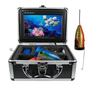 "7"" LCD HD 30m Underwater Video Camera System Fish Finder, 4G SD DVR and Photo Function (GSY7100D) - AU Plug"