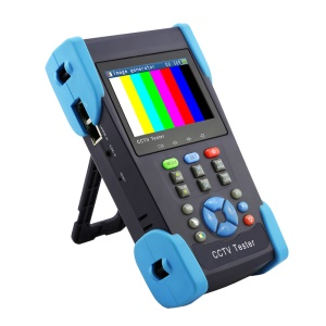 3.5-inch TFT LCD CCTV TVI + Analog Camera Tester Support 12V 1A Output PTZ Control (HD-2800H) - UK Plug
