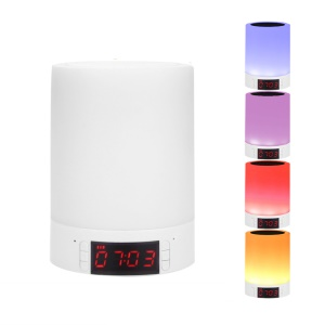 YOUOKLIGHT YK2307 LED Light Smart Bluetooth Speaker Power Bank with TF Card Slot / Aux-in