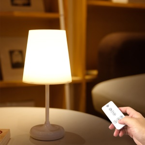 YOUOKLIGHT YK2311 Remote Control Bedroom Bedside LED Lamp Touch Control Three Gear Dimming Table Lamp