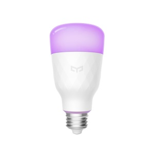 YEELIGHT YLDP06YL 10W RGBW Contrôle Intelligent Ampoule Intelligente E27 - Version Anglaise