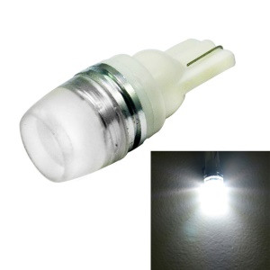 1.5W 1-LED T10 70LM White Light LED Car Side Maker Lamp DC 12V