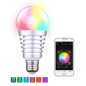 SU-750 Bluetooth 4.0 Smart LED bombilla APP Control para IOS Android - E27