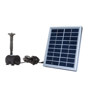 9V 2W Solar Power Decorative Fountain Water Pump for Pool Garden Small Pond