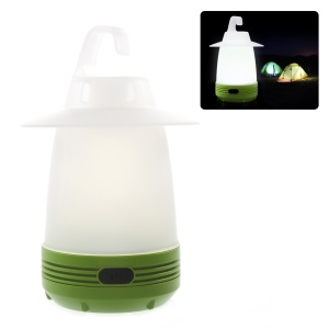 DUHAL Portable Emergency LED Lamp Flashlight Night Light for Outdoor Camp & Indoor Use - Green