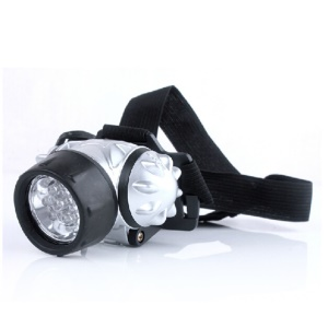 Headlamp Head Mount 12-LED Light for Hunting Exploration Camping