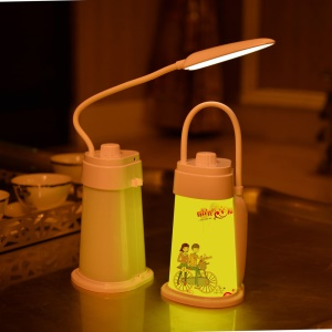 Eye Protective LED Night Lamp Desktop Light with Timing Function - Bicycling Lover