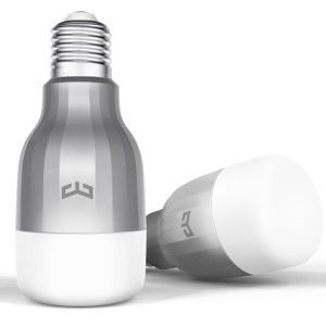 XIAOMI Lámpara de LED Smart Lamp E27 Dimmable WiFi App Control (edición de luz de color)