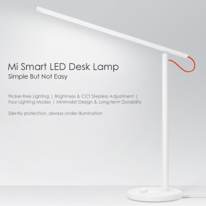 XIAOMI Mijia LED Desk Smart Table Lamp with 4 Lighting Modes MJTD01YL - White