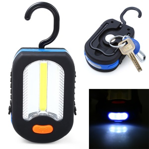 XZ-6618 350LM COB Camping Portable LED Flashlight with Magnet Hook