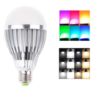 12W Dimmable RGB LED Light Bulb, Support WiFi 2.4G Remote Control (HX-2.4g-TB12W)