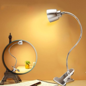 Anpress Dimmable Eye-Care LED Desk Lamp Energy Efficient Table Lamp with Flexible Gooseneck