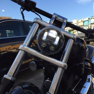 45W 5.75 Inch Round Waterproof Led Headlights for Harley Davidson Motocycle
