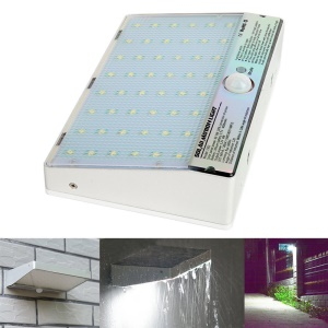 Super Bright 48 LED Solar Powered Waterproof Motion Sensor Wall Light for Outdoor Garden Path
