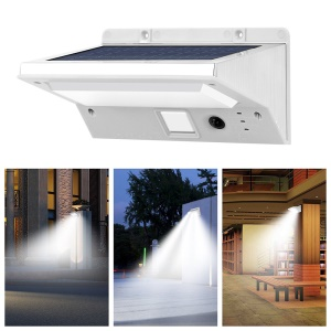 3 Modes 21-LED Solar Powered Motion Sensor Outdoor Wall Light IP44 Waterproof