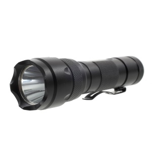 XLD-004G Outdoor 3-mode CREE LED Flashlight Torch, 10W 1100LM - Black