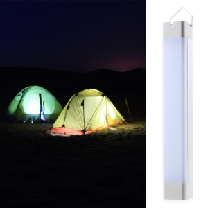 Outdoor Camping LED Light Tube Flashlight 2600mAh Power Bank for Mobile Phone