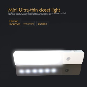 USB Rechargeable Light and PIR Motion Sensor Switch Control LED Night Light
