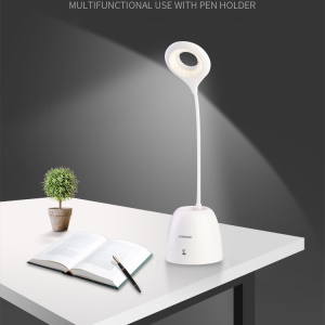 JOYROOM CY164 Eye-protective Table Lamp with Pen Holder - White