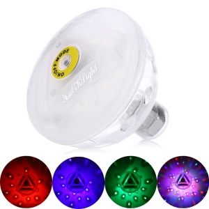 YK6225 DC 5V 3xAAA Battery Powered LED RGB Swimming Pool Underwater Light